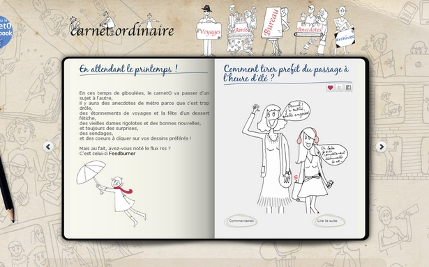 Carnet Ordinaire
