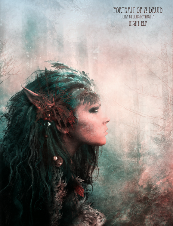 Portrait of a druid