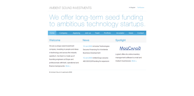 Ambient Sound Investments www_asi_ee