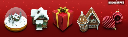 Archigraphs_Christmas_icons_by_Cyberella74