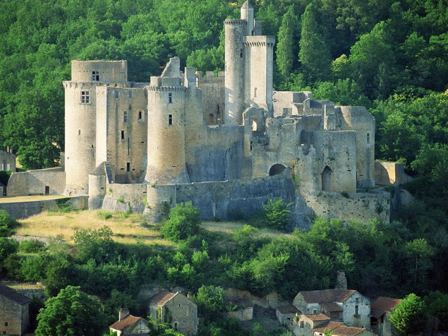 Bonaguil Lot Castle, France