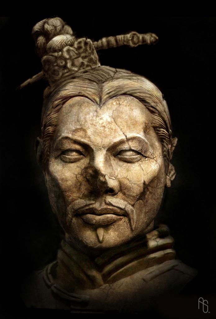 Clay-Emperor-Head-