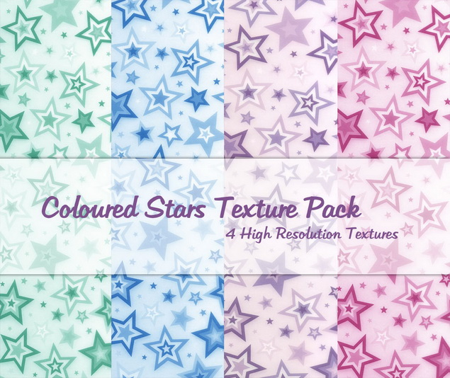 Coloured_Stars_Texture_Pack_by_powerpuffjazz
