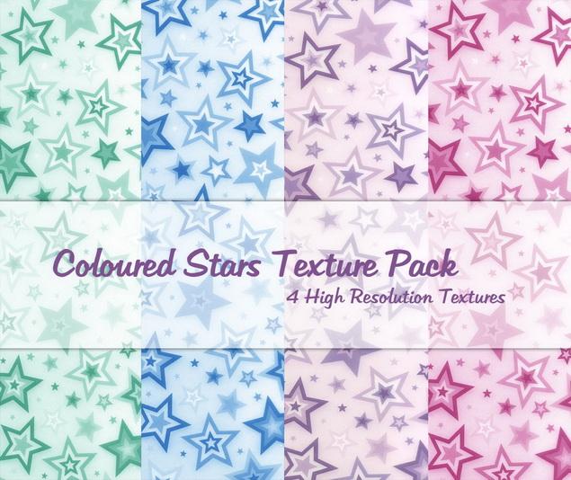 Coloured_Stars_Texture_Pack_by_powerpuffjazz