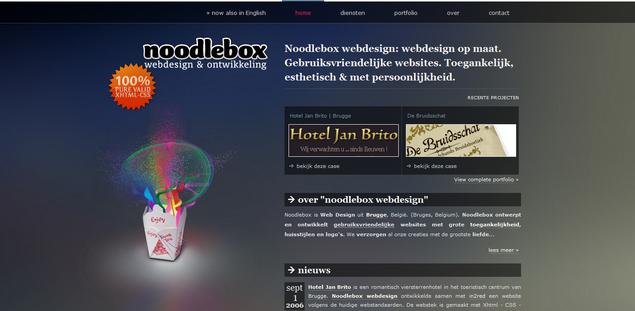 NOODLEBOX WEBDESIGN
