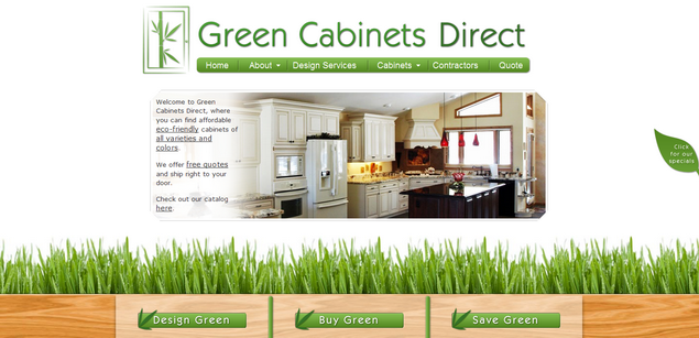 Green Cabinets www<em>greencabinetsdirect</em>com