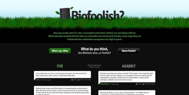 Biofoolish