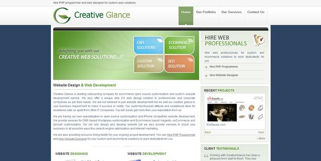 FireShot capture #201 - 'Ecommerce Magento Customization, Hire PHP Programmer, iPhone Website Design' - www_creativeglance_com