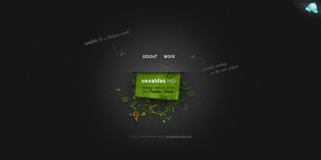 Osvaldas Valutis' - www_osvaldas_info