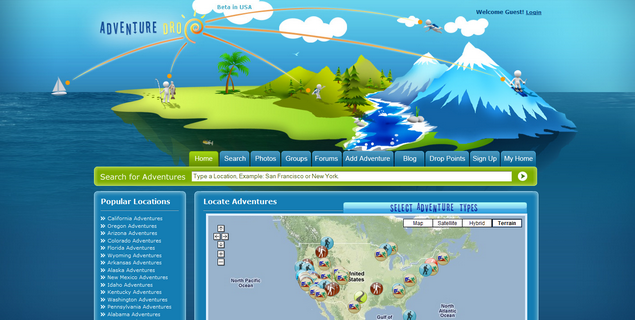 Adventure Travel www<em>adventuredrop</em>com