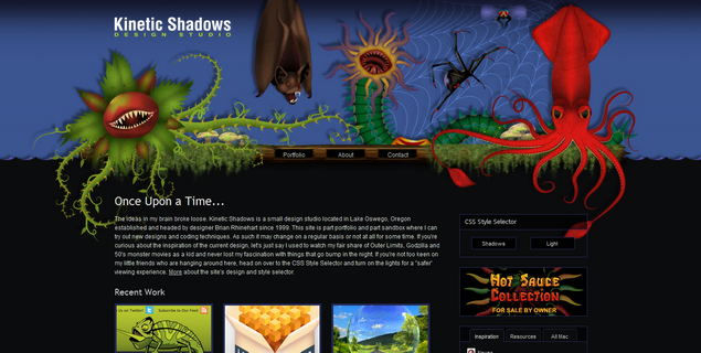 Kinetic Shadows Design Studio  www_kineticshadows_com
