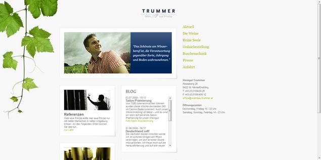 Weingut Trummer www<em>weinbau-trummer</em>at