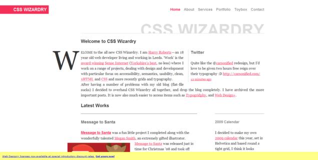 CSS Wizardry