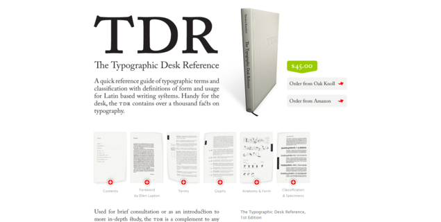 The Typographic Desk Reference