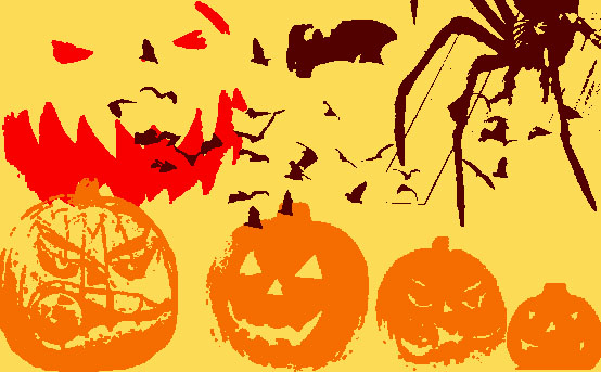 Halloween_brushes_by_rakuenchan