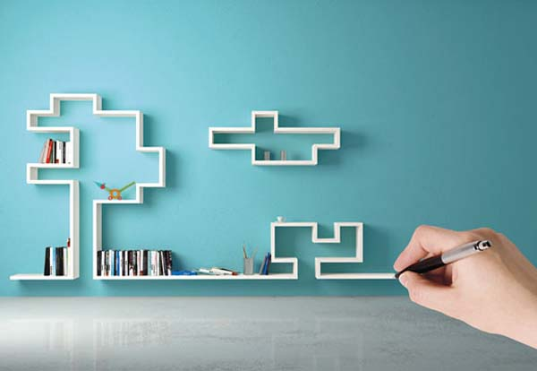 Graphic Shelving System