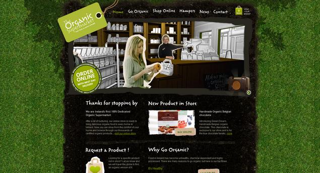 Organic food Ireland