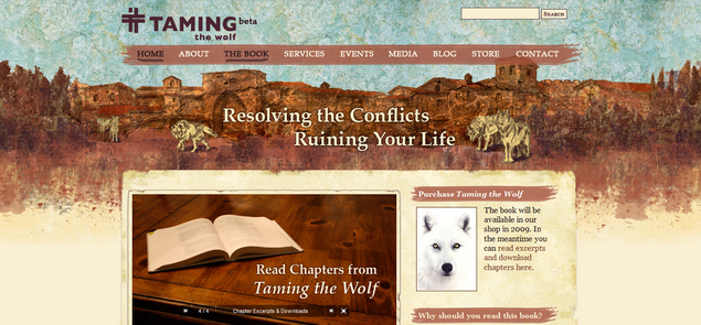 Taming the Wolf › Conflict resolution in the spiritually transformative tradition of St_ Francis of Assisi Taming the Wolf' - tamingthewolf_com_resize
