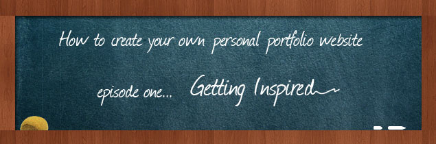 How to create your own personal portfolio website - Getting Inspired « INDEZINER INDEZINER