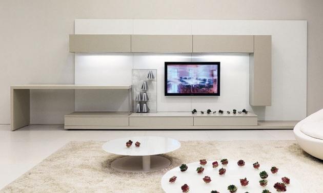 modern wall units designs indeziner indeziner. Black Bedroom Furniture Sets. Home Design Ideas
