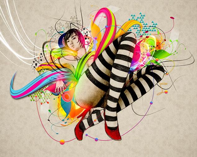 gleam stripes