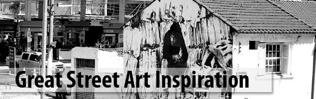 Great Street Art Inspiration