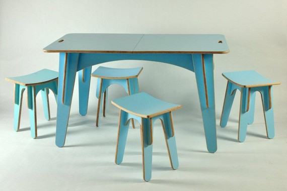 Ply Stool - Flat packable