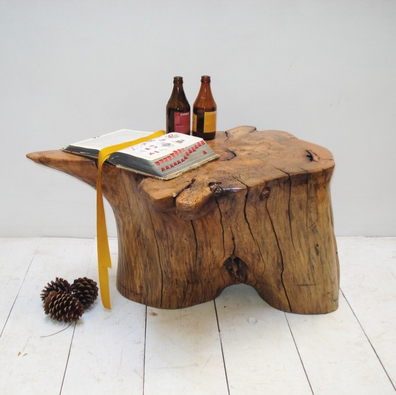 Coffee Table Pecan Root